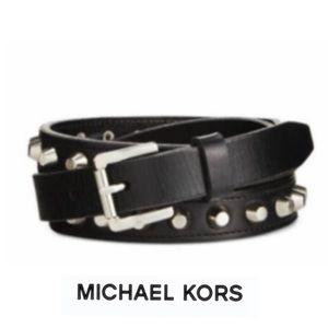 Michael Kors | Studded Skinny Belt